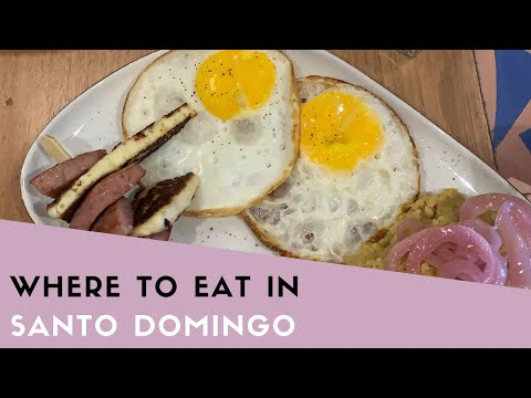 Where to Eat in Santo Domingo
