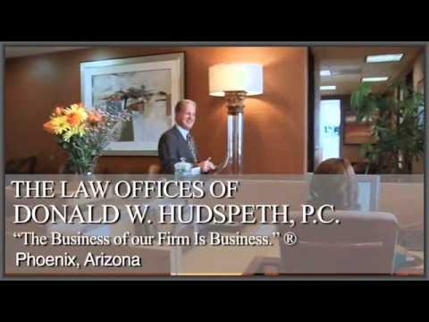 Arizona Business Lawyers - The Hudspeth Law Firm