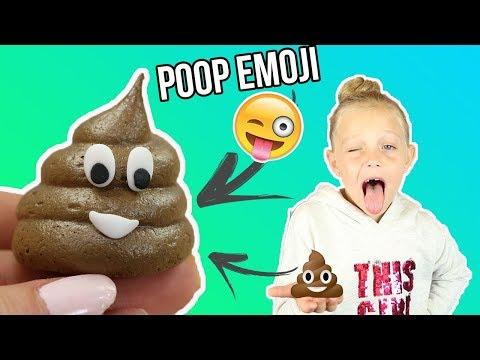 ♡•-recette-meringue-emoji-poop-|-facile-et-rapide-•♡