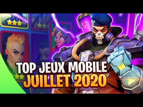 TOP JEUX MOBILE Android/iOS 💎 JUILLET 2020