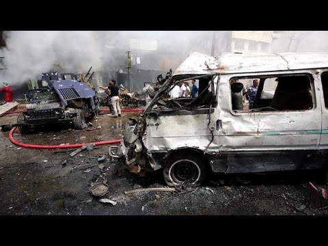 Baghdad area hit by deadly twin suicide bombings