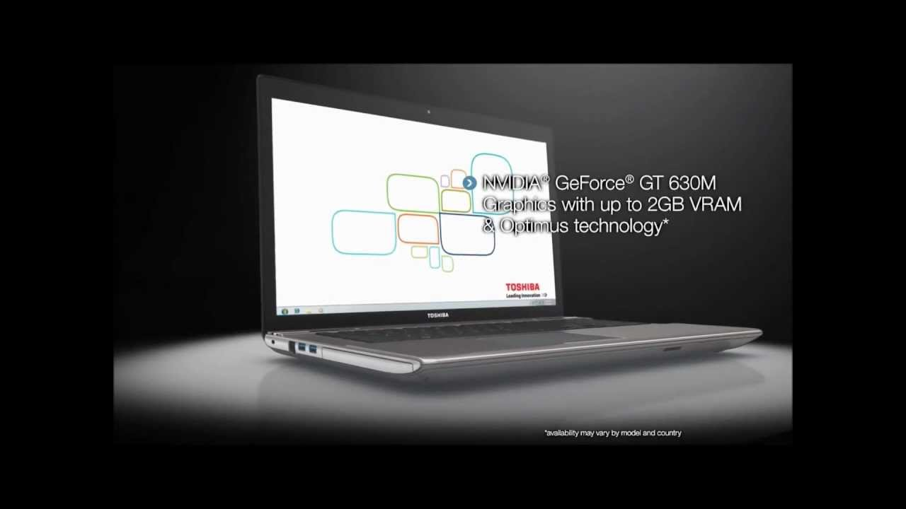 Toshiba Satellite P875 Series Youtube