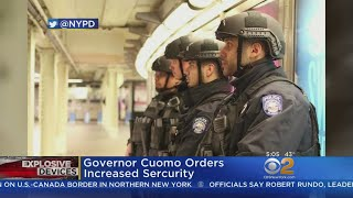 NYPD Steps Up Security Over Suspicious Packages