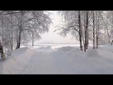 Красивый  северный город Печора в Республика Коми