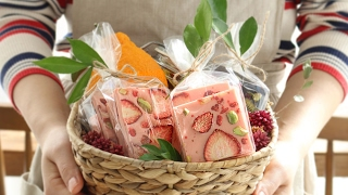 견과류와 과일을 듬뿍 올린 바크초콜릿 l 수제 초콜릿 l 발레타인데이  : Chocolate Bark [아내의 식탁]