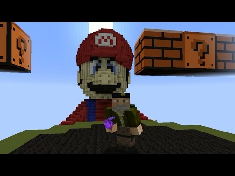 batalla-vs-mario-bros---mini-juego-minecraft
