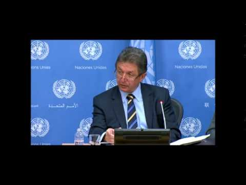 ICP Asks Ukraine PR Sergeyev of Grad Rockets by Donetsk, IMF and Ceasefire Positions