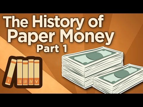 The History of Paper Money - Origins of Exchange - Extra His