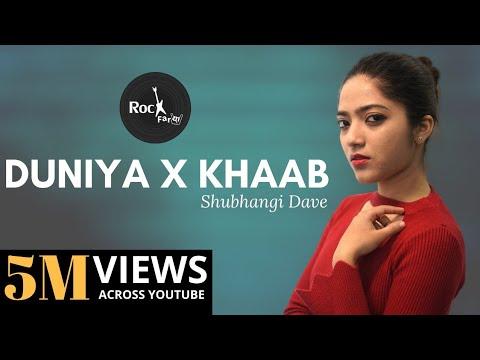 Duniya & Khaab Mashup Lukka Chuppi  Female Version  Akhil  Kartik Aryan  Rockfarm