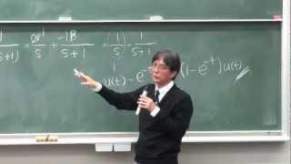 慶應大学講義 物理情報数学C 第八回 フーリエ変換の性質,ラプラス変換
