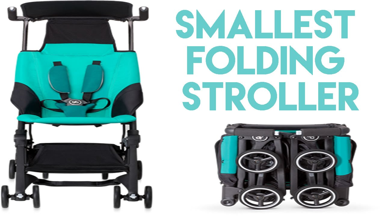smallest folding stroller best compact stroller youtube