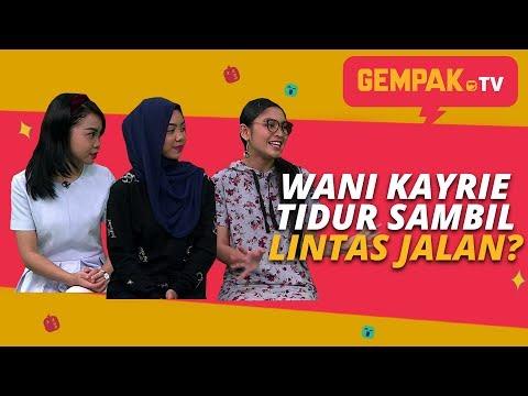 Free Download Wani Kayrie Tidur Sambil Lintas Jalan ?   Sissy Imann,sarah Suhairi - Gempak Tv Mp3 dan Mp4