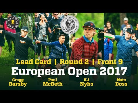 European Open 2017 Lead Card Round 2 Front 9