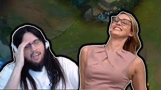 IMAQTPIE ON E-SPORTS WOMEN | SHIPHTUR'S TILT | LOL MOMENTS
