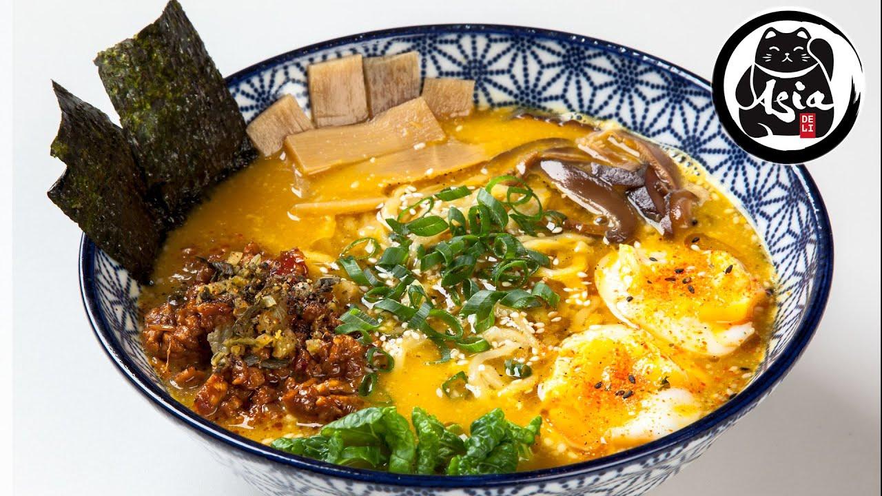 Jak zrobić WEGE RAMEN Yasai - gotowanie z Asia Deli Kraków