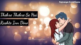 Dhadkanein Meri WhatsApp Status | Yasser Desai | Asees Kaur