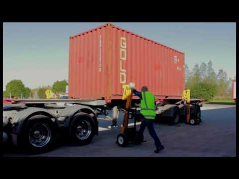 c legs bison, pesaje de contenedores sobre chasis