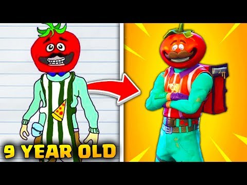 Top 10 REAL Fortnite Skins DESIGNED BY FANS!
