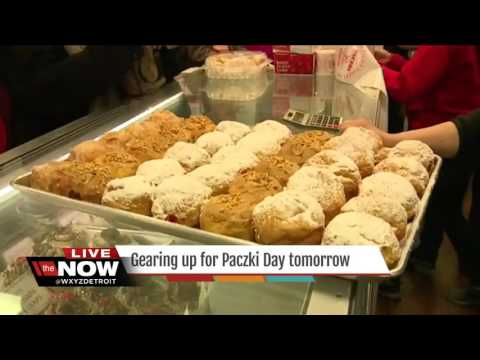 Gearing up for Paczki Day