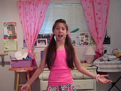Acting Slate 2010  Karissa Lee Carleton at age 10.MP4