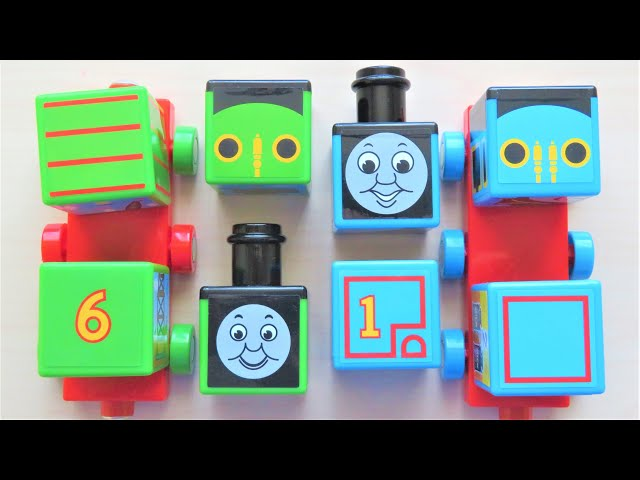 Thomas & Friends Square magnet Percy RiChannel
