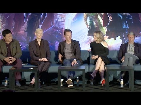 Doctor Strange  FULL press conference 2016 Benedict Cumberbatch