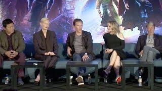 Doctor Strange | FULL press conference (2016) Benedict Cumberbatch