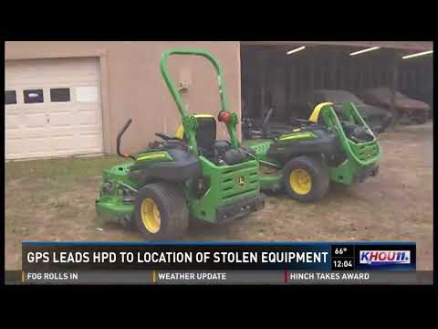 GPS Leads Police To Location Of Stolen Equipment
