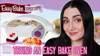 We Tried An Easy-Bake Oven For The First Time