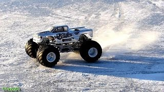 CPE Barbarian Monster Truck - Snow & Ice Epic Slow-motion
