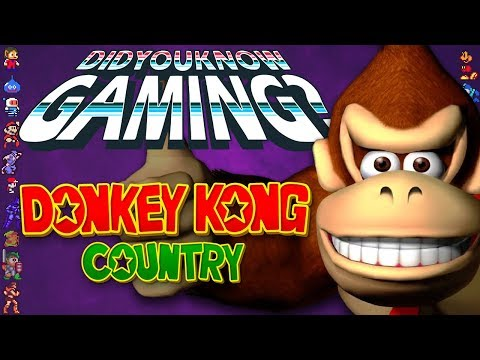 Donkey Kong Country - Did You Know Gaming? Feat. TheCartoonGamer