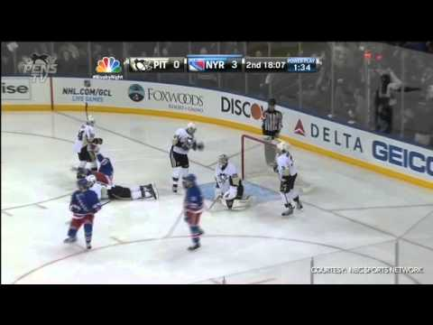 59a6de0fa3f Pittsburgh Penguins   New York Rangers Highlights 4 3 13 - YouTube