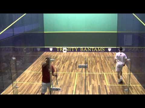 Harvard\'s Ali Farag vs. St. Lawrence\'s Amr Khalifa CSA Individuals semifinal Game 5