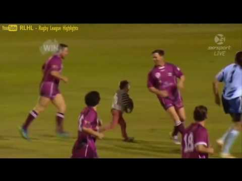 4 Year Old Boy Pitch Invaded a Rugby Match in Australia