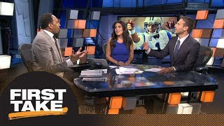 Stephen A., Max react to Cam Newton continuing to take shots at Kelvin Benjamin | First Take | ESPN