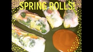 Ep:524 My First Spring Rolls & Other Eats.