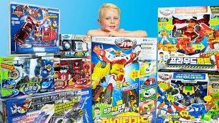 Новые трансформеры Распаковка посылки с игрушками Карботы Микард Лига Вотч Кар Тобот