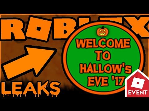 [LEAK] ROBLOX HALLOW EVE BADGES 2017 EVENT | Leaks and Predictions