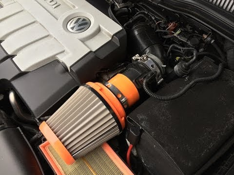 Volkswagen CC Sport Filter sound TDI 230HP