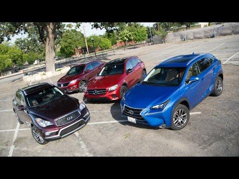2016 Small Luxury SUV Comparison  - Kelley Blue Book