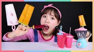 凱利製作水果冰淇淋食玩遊戲 | 凱利和玩具朋友們 | 凱利TV thumbnail