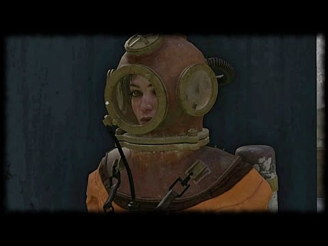 Syberia 3 Gameplay Walkthough PC - Part 10 - Kate Walker goes Diving - Open Port Locks