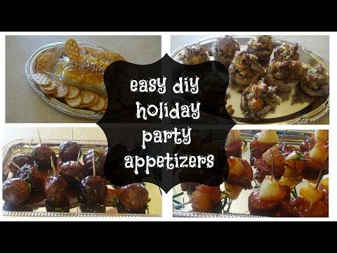 Save easy diy holiday party appetizers Screenshots