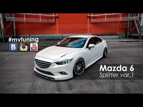 tuning mazda 6 splitter for skyactivsport fangs var 1. Black Bedroom Furniture Sets. Home Design Ideas