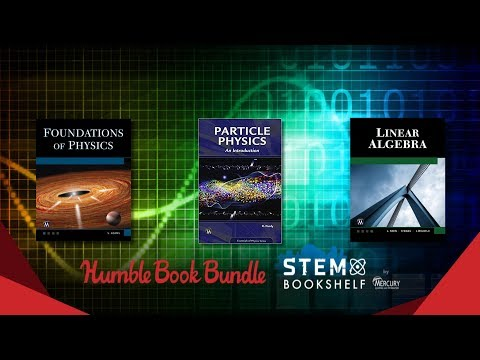Humble STEM Book Bundle -- Physics + Math Books ... And Um... Other Stuff.