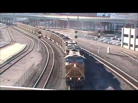 Kansas City Railfanning 1/19/13