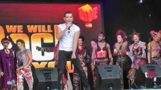 """Bohemian Rhapsody"" - WE WILL ROCK YOU (West End LIVE 2011)"