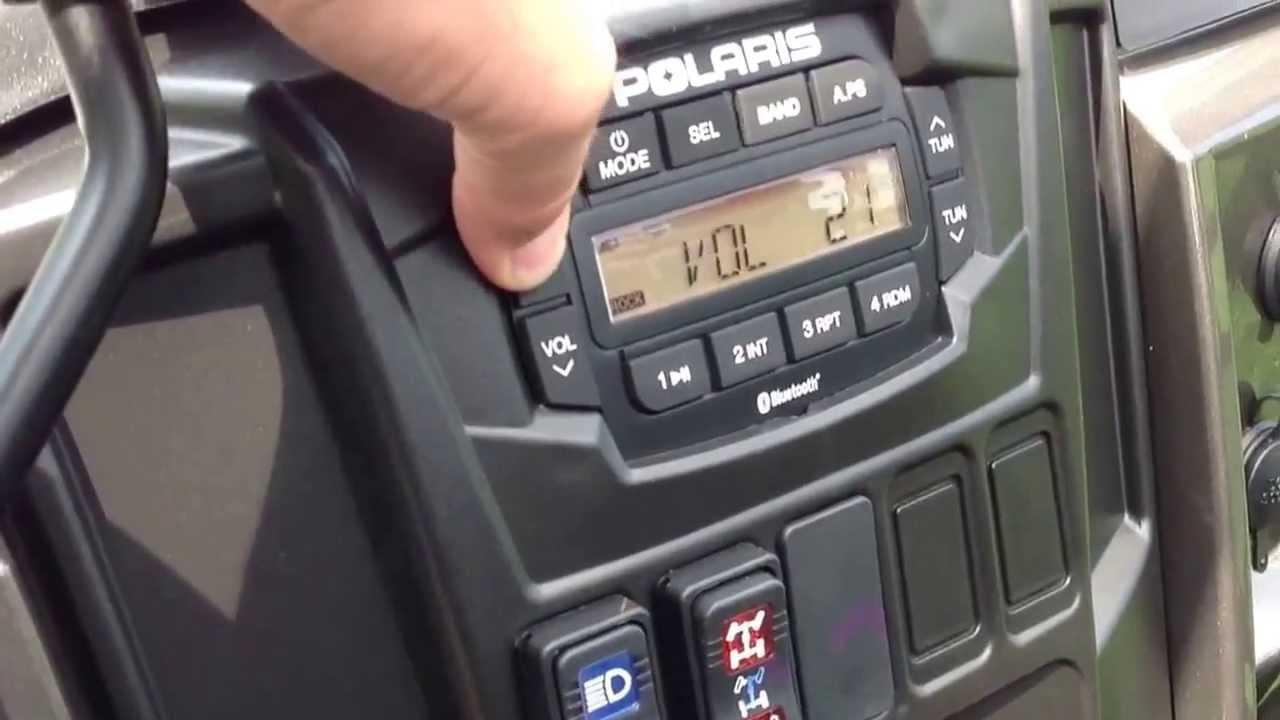 Ritchie Powersports Polaris Ranger 900 Radio Kit Youtube 07 Sportsman 500 Efi Wiring Diagram