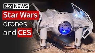 Swipe | CES 2017 & Star Wars laser drone gaming