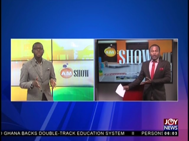 AM Show Intro on JoyNews (16-8-18)